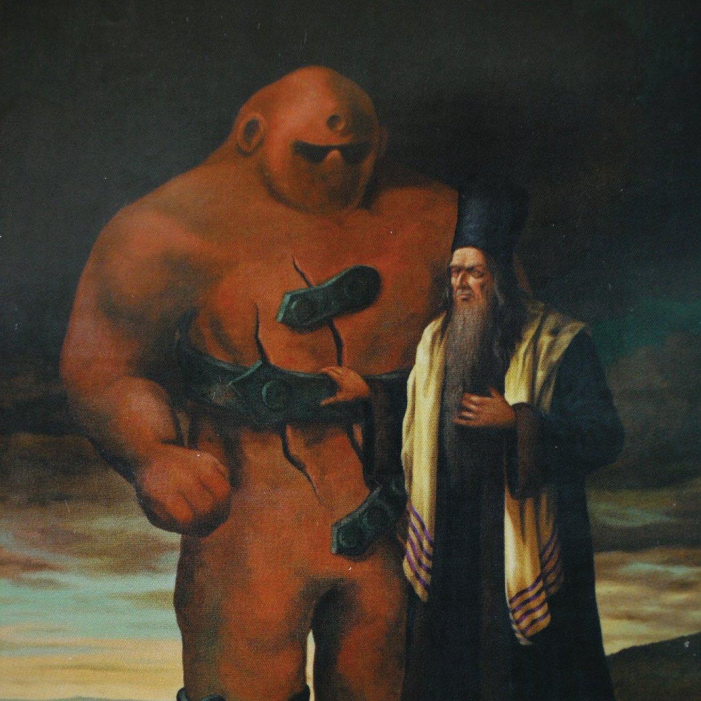 history of the golem of Prague